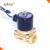 "Hot Selling High Quality N/C Brass Solenoid Valve 3/8"" Used for Water Gas Oil  220VAC Voltage"