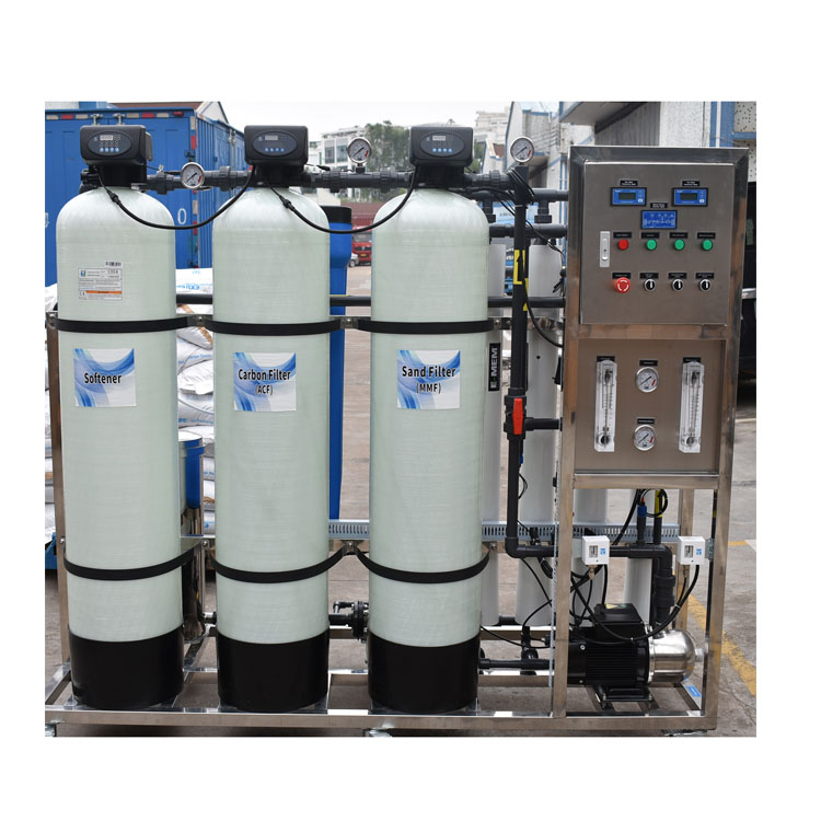 1000LPH  waste water treatment equipment industrial water purification systems