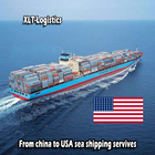 drop shipping rates LCL sea freight service to los angeles new york door to door delivery from china