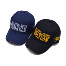 Trucker cap met logo Leger Snapback Hoed Navy Seal <span class=keywords><strong>Team</strong></span> brief paillette borduurwerk baseball cap