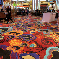 Casino High Durability Fireproof Bespoke Gaming Poker Room Axminster Carpet