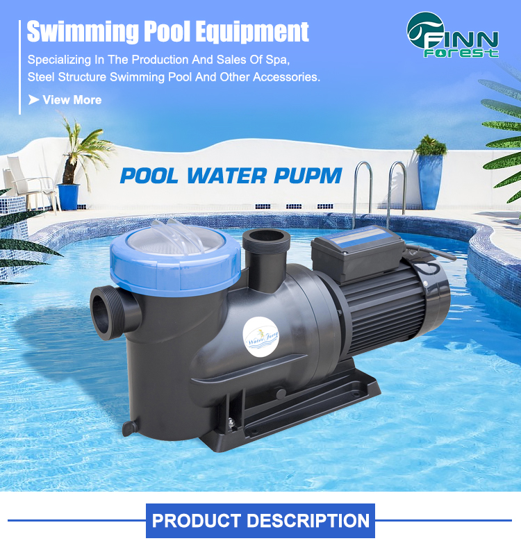 High Quality Commercial Electric Variable Speed 1HP Swimming Pool Pump