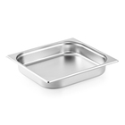 Stainless Steel 2/3 Size Food Container GN Pan Food Warmer
