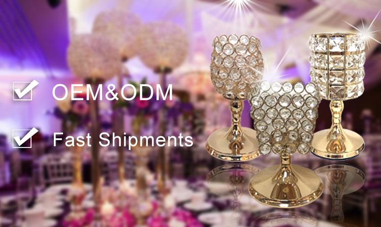 Atacado lâmpada de tabela moderna mesa de escritório clássico luxo cristal candeeiro de mesa de ouro ornamento