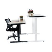 Quality and quantity assured home electric height adjustable office desk table furniture