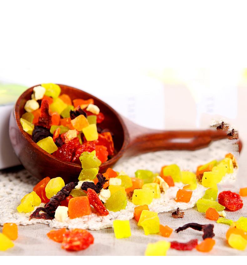 Different flavors mixed dry fruit tea Health benefit detox fruit tea - 4uTea | 4uTea.com