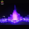 Children Play Outdoor Music Dancing Dry Deck Fountain With Led Lights