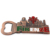 Souvenir Custom bottle shape wine Beer opener Magnetic Fridge Magnet Metal Bottle Opener metal can bottle opener