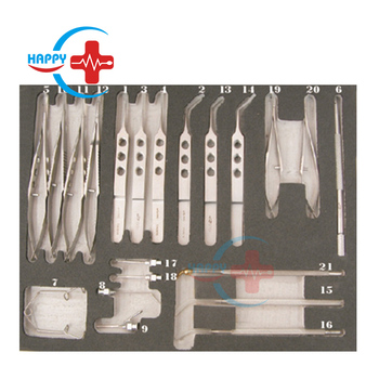 SB0330 Best quality cheap price 21 PCS Cataract ophthalmology surgical instrument set, Cataract instrument set