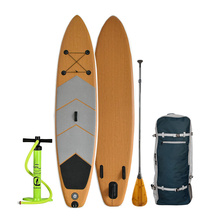 2020 Popular diseño de bambú inflable <span class=keywords><strong>SUP</strong></span> Stand Up Paddle Board