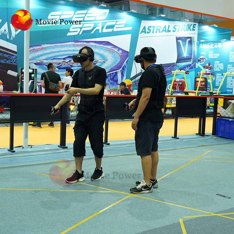 Other+Amusement+Park+Products Multiplayer Space Shooting War Cs 9D Standing Vr Space Platform Walk Simulator