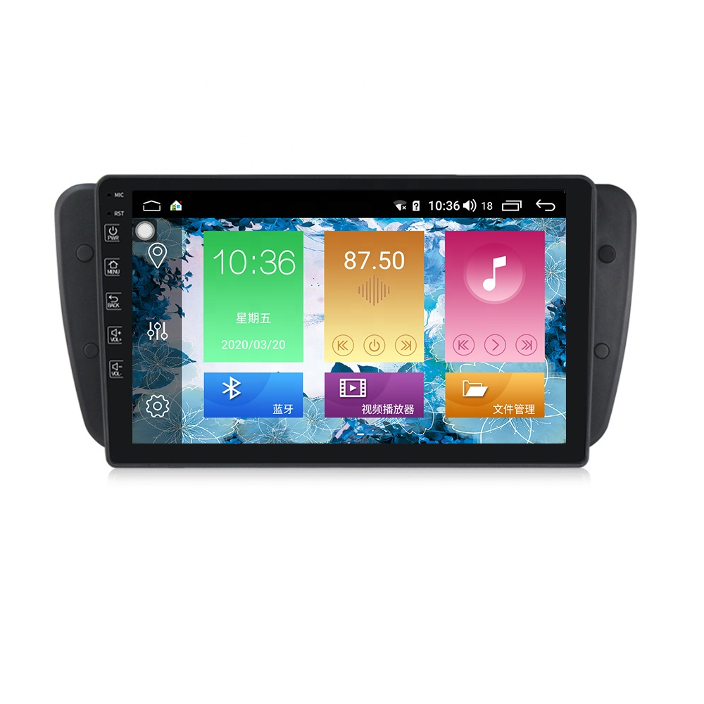 M Series 4+64G Android 10.0 IPS DSP Car Navigation <strong>Player</strong> For Seat Ibiza 6J MK4 2009-2013 built-in 4G LTE CarPlay 9'' no dvd