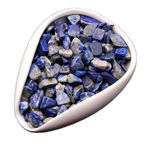 Wholesale Natural Crystal Tumbled Stone Reiki Gemstone Gravels Lapis Lazuli Stone For Healing
