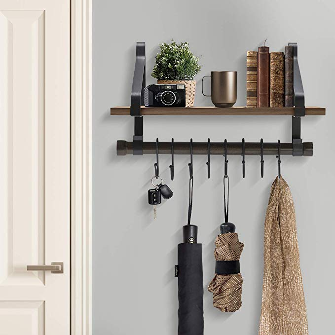 metal iron adjustable corner shelf on the wall with best price