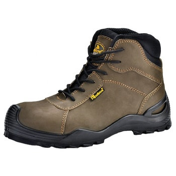 Military Steel Toe Safety Boots With