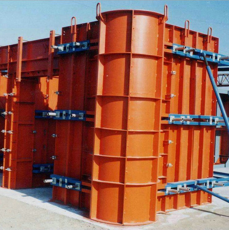Metal Aluminium Scaffolding Concrete Column Formwork for Building