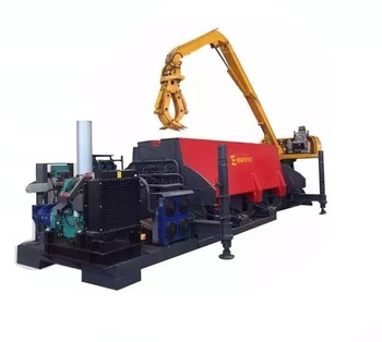 Fully Automatic Scrap Car Body Press Machine for metal recycling