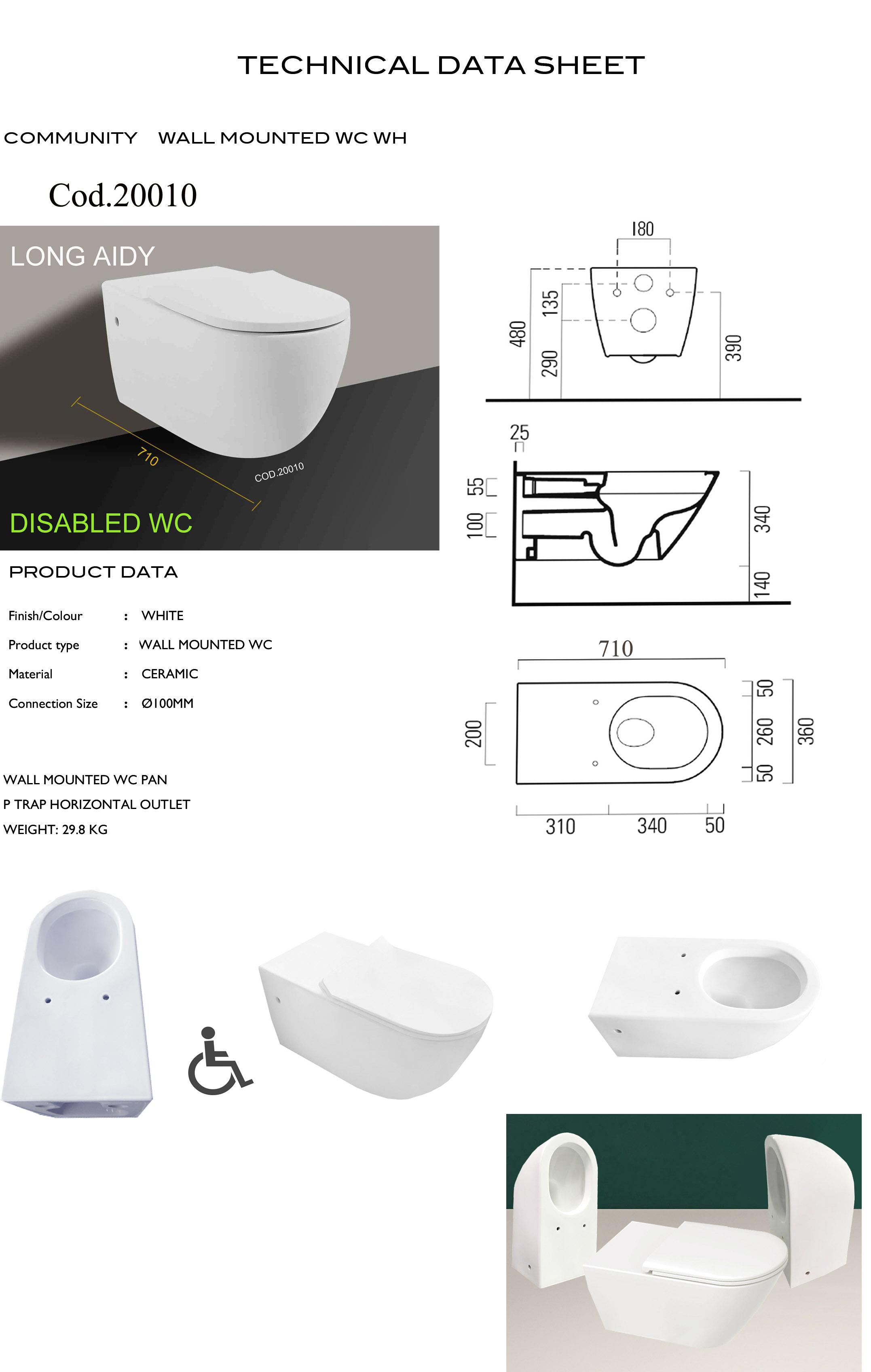 krankenhaus sanitär möbel Öffentlichen training bidet wc
