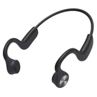 Factory Wholesale E9 IP55 Waterproof Mini Titanium Open Ear Sport Bone Conduction Bluetooth Headset Earphone for Phone