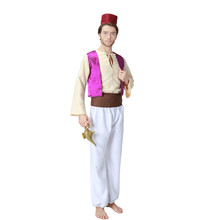 PoeticExst Arabische <span class=keywords><strong>Prins</strong></span> Cosplay Halloween <span class=keywords><strong>Kostuum</strong></span> Mannen
