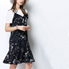 women floral chiffon slip boutique dress new style