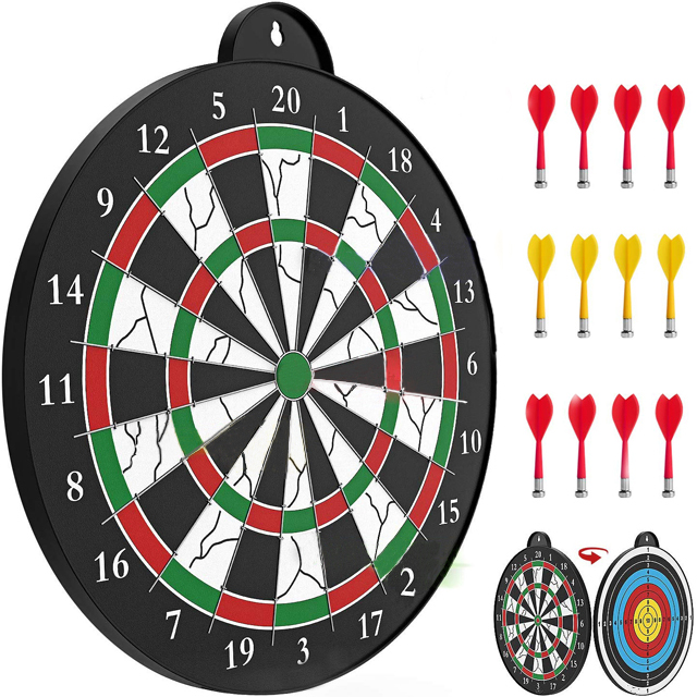 Set with 6 safe magnetic Darts Kids toys magnetic dart board