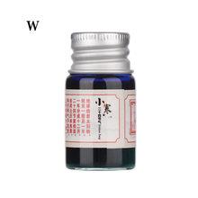 Цветные чернила для каллиграфии, 5 мл, чернильная ручка для рисования, блестящие Порошковые чернила, не углеродистая подпись, чернильные при...(Китай)