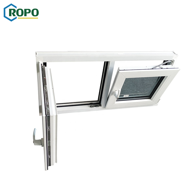 UPVC Profile Energy Save Passive House MD82 Series Tilt and Turn Window