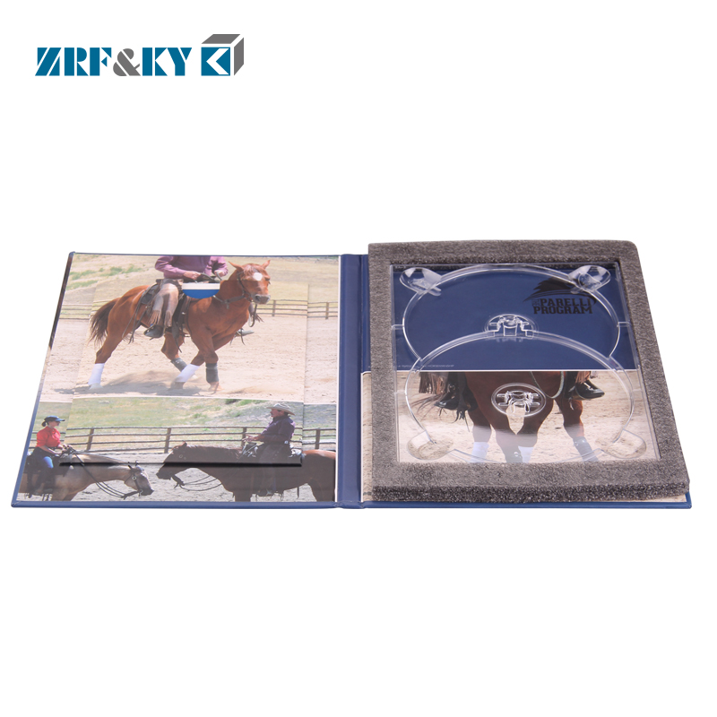 Custom Printing Sport Disk CD DVD Packaging Duplication Digipack