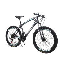 Fast drop shipping python 26-inch high carbon steel mountain bike adult bicycles