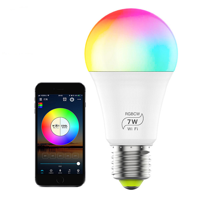 Smart LED Bulb Colorful 800 Lumens 10W E27 Lemon Smart Lamp For Mi Home App White/RGB Option