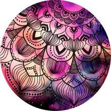 Ретро этнический круглый для косметики ковры для девочек Декор для комнаты игровой коврик прикроватный коврик напольный стул большой кове...(Китай)