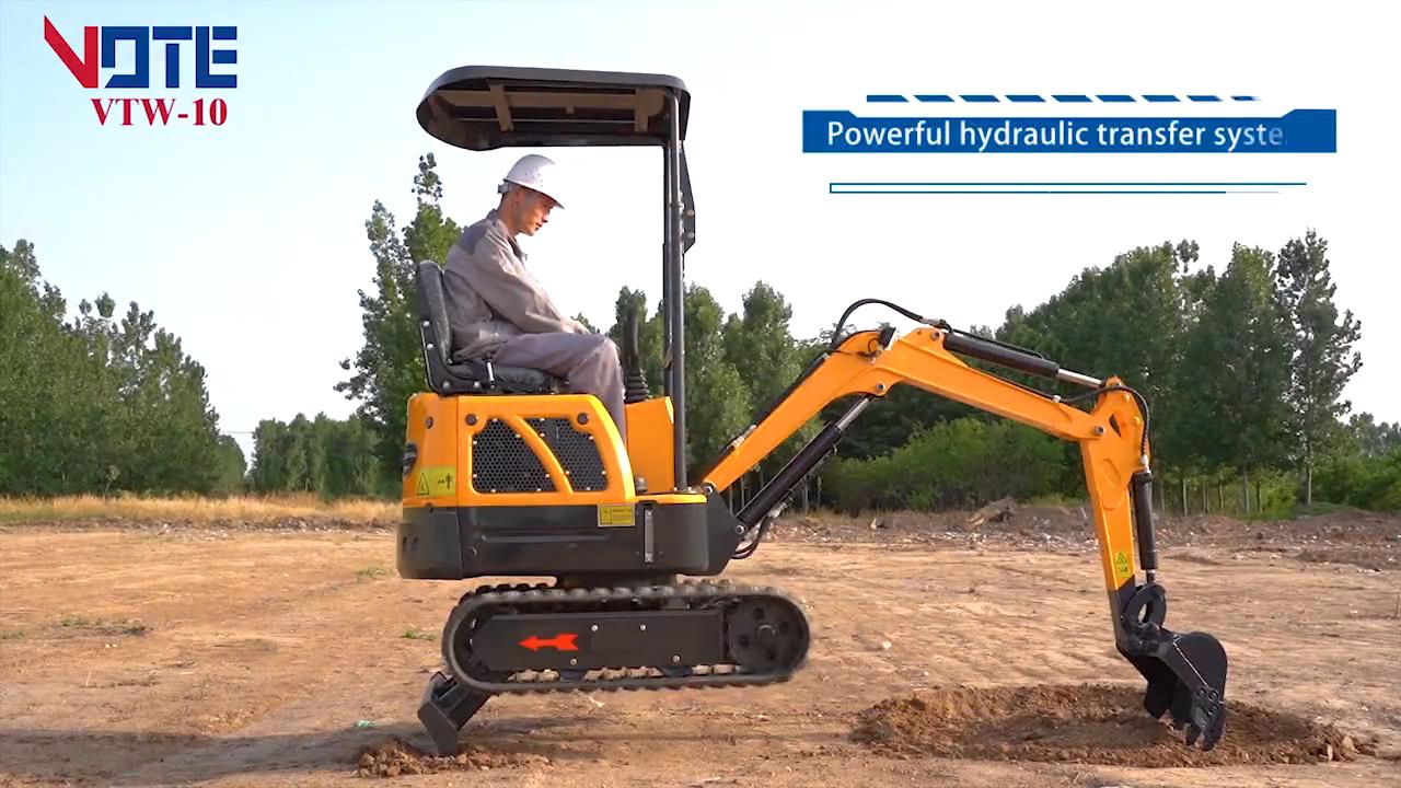 Cina Micro Mini Crawler Digger Idraulico Agricolo Escavatore Macchina Per La Vendita di produttori di prezzi escavatore