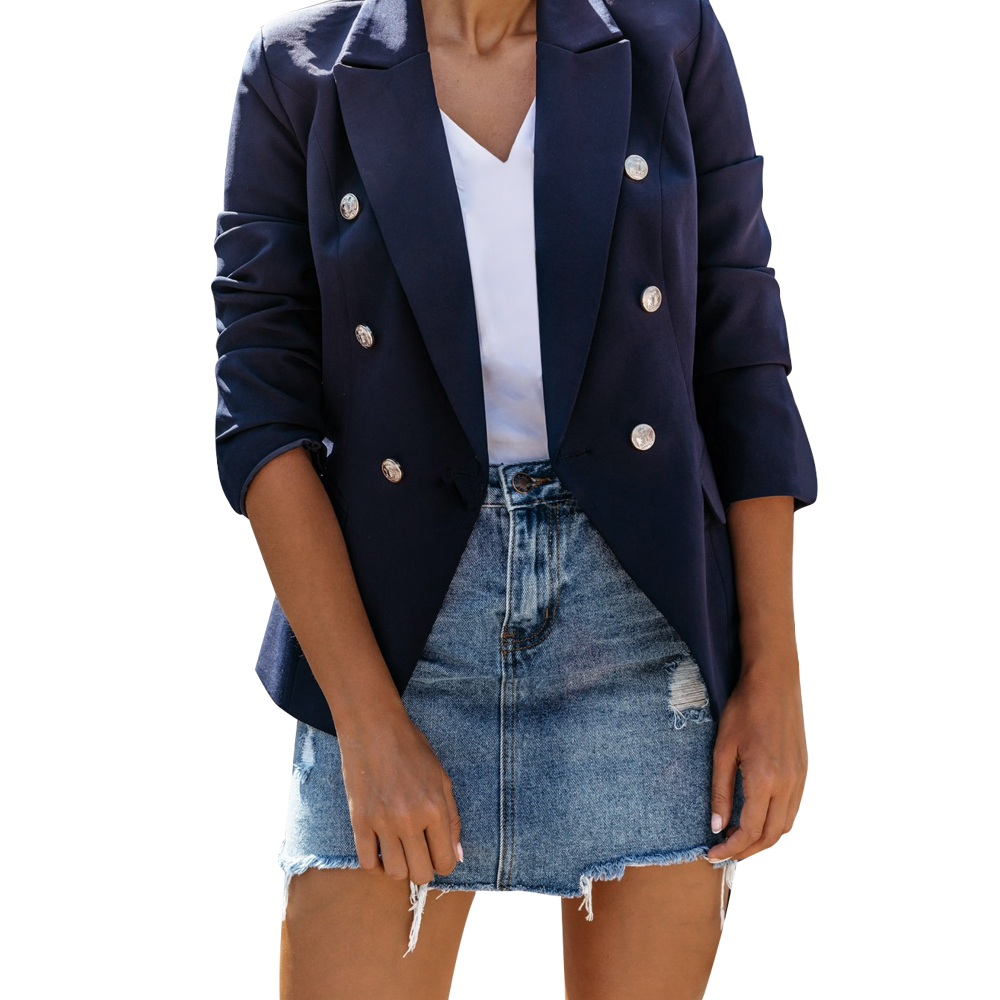 French vintage Wholesale winter clothes jean coat Made in China Hollow long sleeve stitching dress
