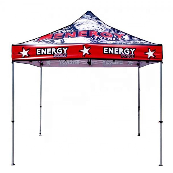 USA Free Shipping 10x10ft canopy China Making custom <strong>trade</strong> show large pop up tent
