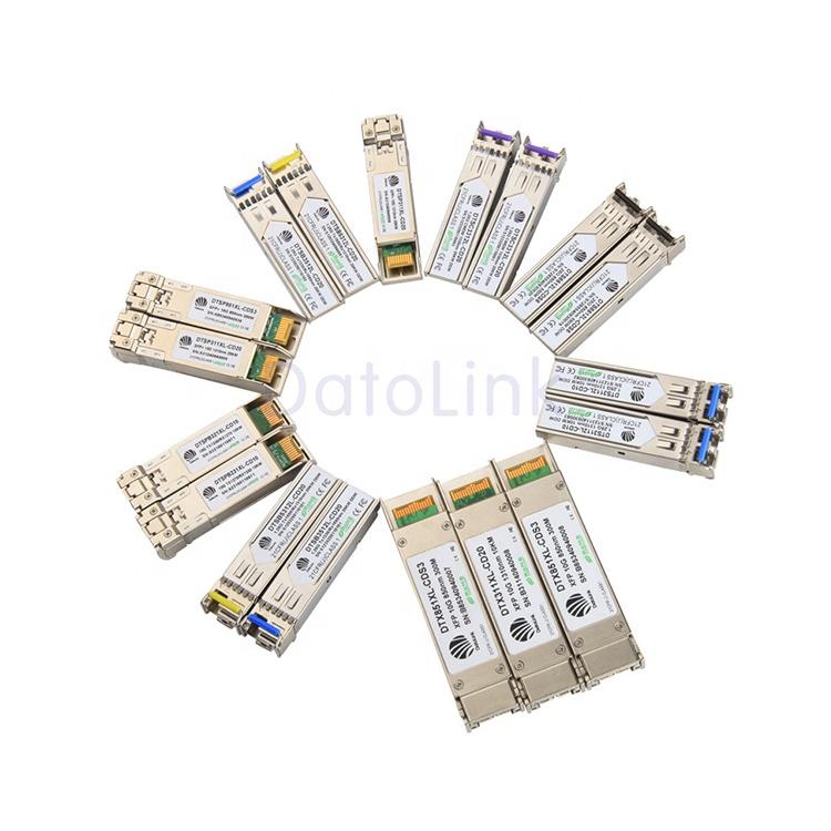 高品質オプティカル Sfp トランシーバ 1.25 グラム/2.5 グラム/10 グラム/40 グラム/100 グラム GPON ONU SFP モジュール