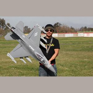 !Rc Model Product Airplane F16 Fighting Falcon RC Battery Airplane Aircraft Radio Controlled Plane