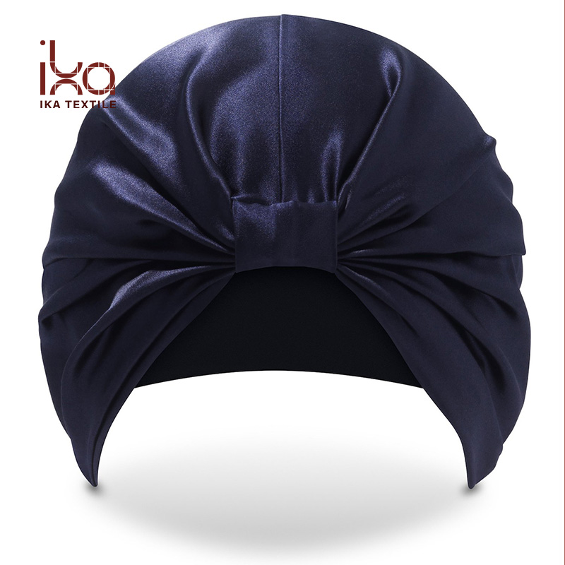 100% Pure Mulberry Silk Chic Soft Comfortable Satin Night Hair Wrap Sleep <strong>Cap</strong> for Woman