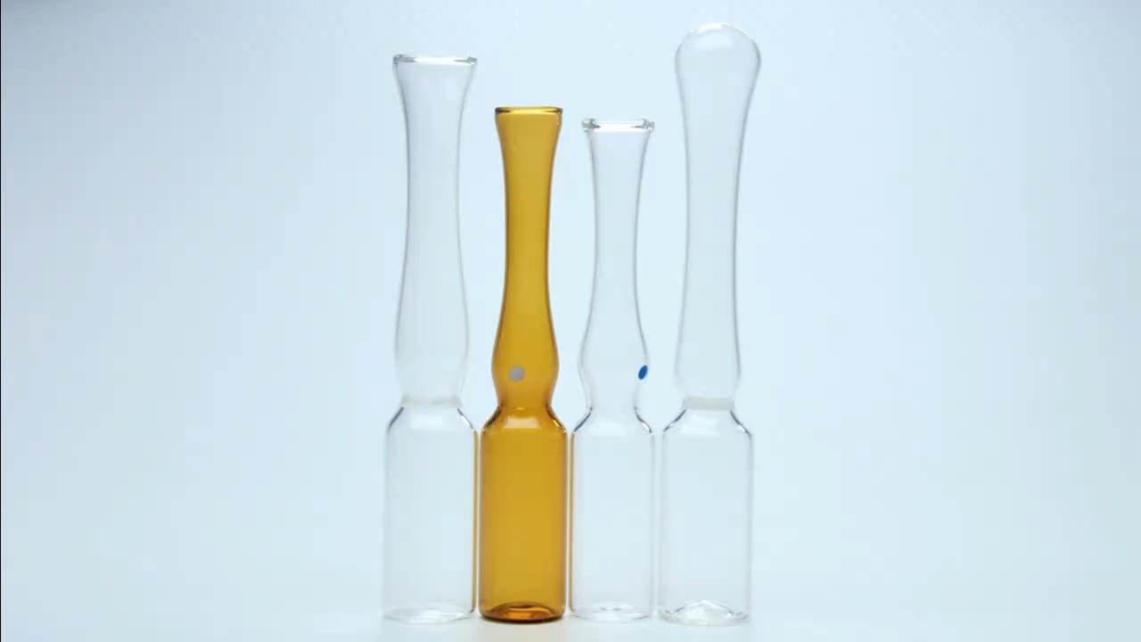 1 ml Ampolas De Vidro Âmbar