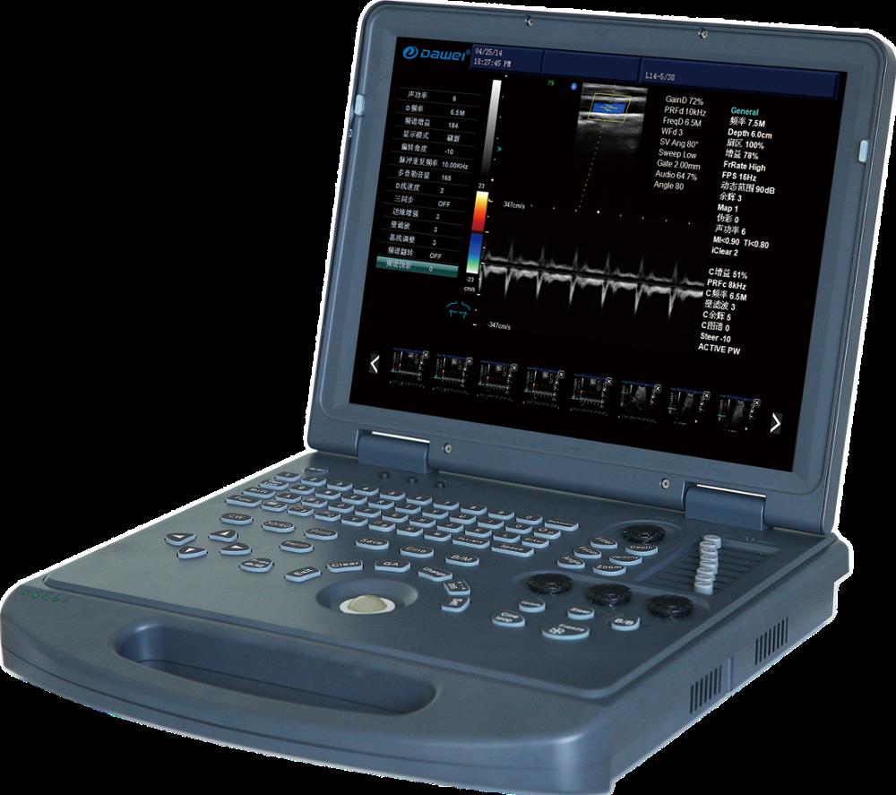 Prezzo a buon mercato digitale USB Portatile Convesso/Lineare Sonda ad ultrasuoni per il computer portatile del computer senza fili wifi ad ultrasuoni