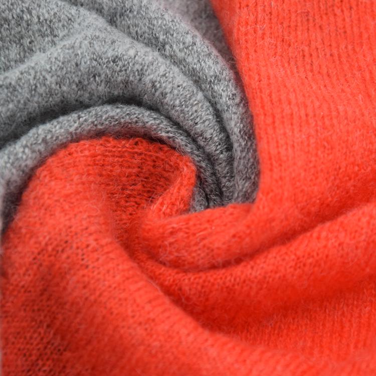 Stock Wholesale Beanie Merino Wool Kid Mohair Knitting Yarn