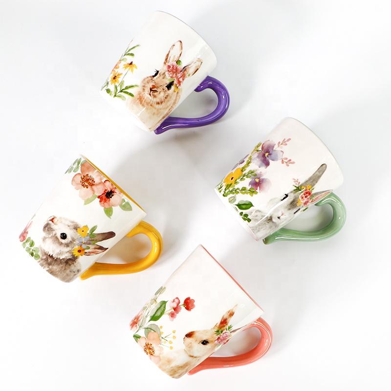 Giveaway Ceramic Cups Coffee Tea Bunny Mug