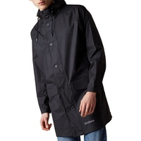 Mens Long Raincoat Reusable Raincoat Waterproof Rain Wear Coat Raincoat