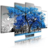 Wall Painting Artist Tree Art Clock Black And White Decorations Living Room Decoration Decor Modern Paintings Canvas Prints