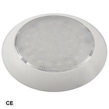 5-1/2 inch LED 돔 빛 흰 <span class=keywords><strong>플라스틱</strong></span>,) 저 (Low) 프로필 boat 인테리어 LED 돔 빛 와 switch 대 한 보트에 및 트럭