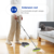 Masthome Stainless Steel Long Handle Floor Sweeper Tpr Plastic Brushes Soft Magic Floor Cleaning Brooms With Dustpan Set