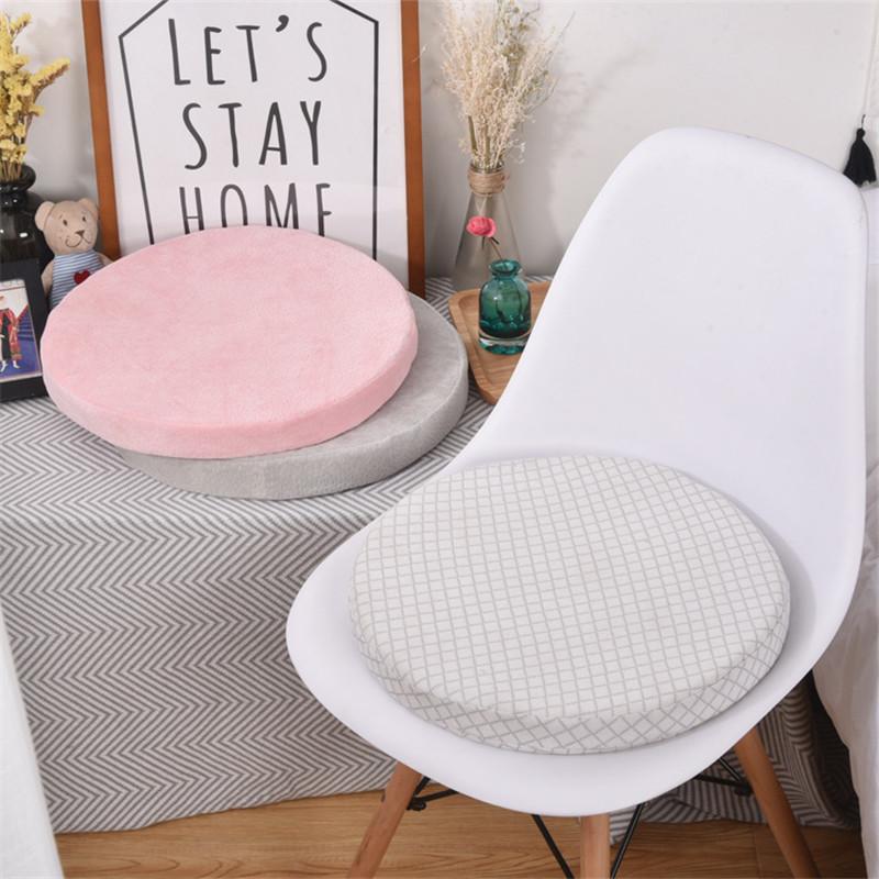 उच्च गुणवत्ता नरम सादे सनी मेमोरी फोम दौर पैड कुर्सी सीट कुशन