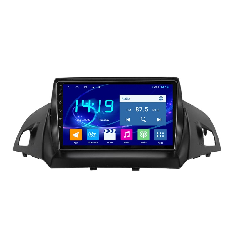 IPS DSP CARPLAY 4G+64G Android 9.0 GPS Navigation for Ford Kuga Escape 2012-2016 Stereo Multimedia Bluetooth Player