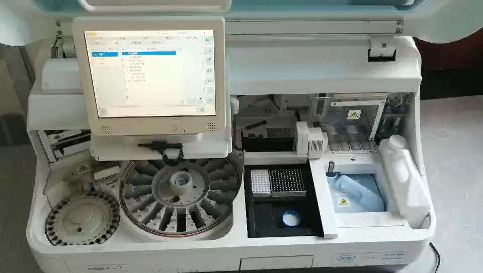 Verwendet Cobas Roche e411 Analyzer Roche Cobas E411Chemistry-Immunossay Analysator Roche Chemie Analysatoren In Gutem Zustand