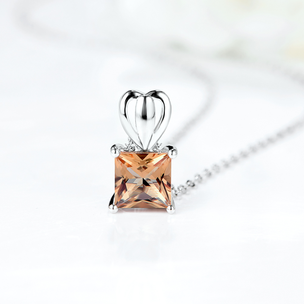 1 Carat Diaspore Sultanite Pendant For Women Real 925 Sterling Silver Zultanite Engagement Pendant New Fine Jewelry Gifts